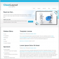 Web layout free website templates for free download about 203 free clean layout template maxwellsz