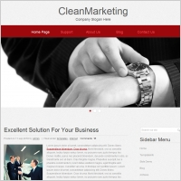 Clean Marketing Template