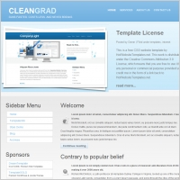 Cleangrad Template