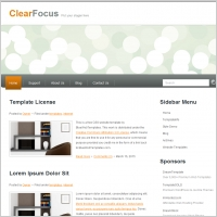 Clear Focus Template