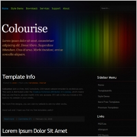 Colourise 1.0 Template