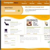 Computer Store Template