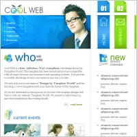 Cool Web Template