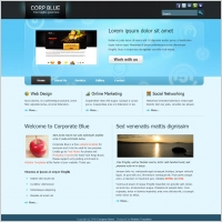 corporate blue - Html Templates Free Download