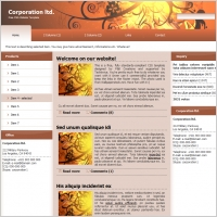 Corporation ltd. Template