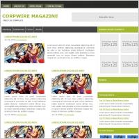 Corpwire Magazine Template