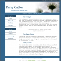 Daisy Cutter Template