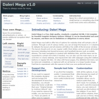 Daleri Mega v1.0 Template