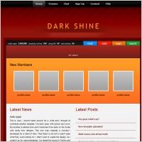 Dark Shine Template