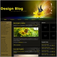 free blog template free website templates for free download about