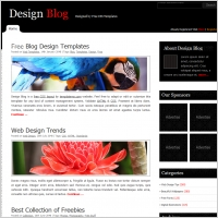 2 column blog template free website templates for free download ...