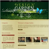 Design Garden Template