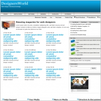 DesignersWorld Template