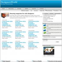 DesignersWorld Template