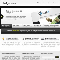 Dezign Folio Template