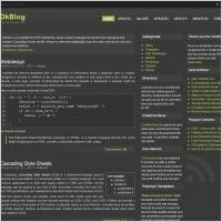 Dk Blog Template