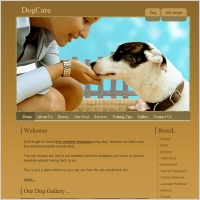 Dog Care Template