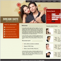 Gratis matchmaking website templates