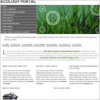Ecology Portal Template