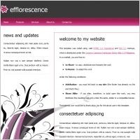 efflorescence Template