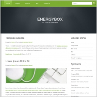 Energy Box Template