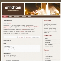 Enlighten 1.0 Template