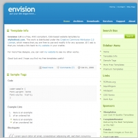 Envision 1.0 Template