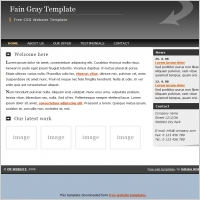 Fain Gray Template