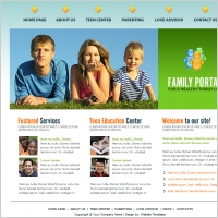 Family Portal Template