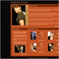 Fashion House Template
