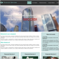 Financial Services Template
