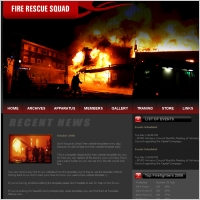 Fire Rescue Squad Template