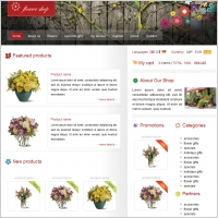 Flower Shop Template