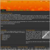 Fluidity.com Template