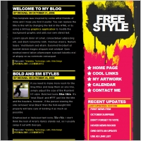 Html projects free website templates for free download about