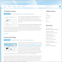 FreeWebDesign Template