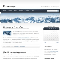 Fronzen Age Template