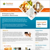Furniture Collections Template