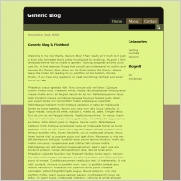 Generic Blog Template