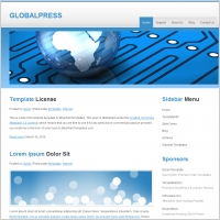 Global Press Template