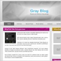 gray blog