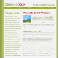 gree and red