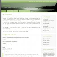 Green 80 Template