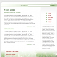 Green Grass Template