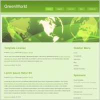 Green World Template