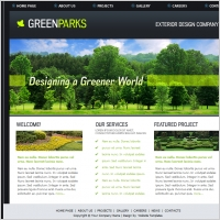 GreenParks Template