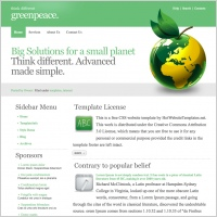Greenpeace Template