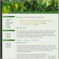 Greenpiece Template