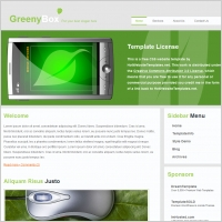 Greeny Box Template