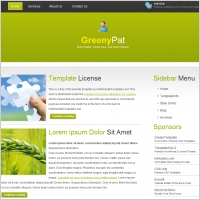 Greeny Pat Template